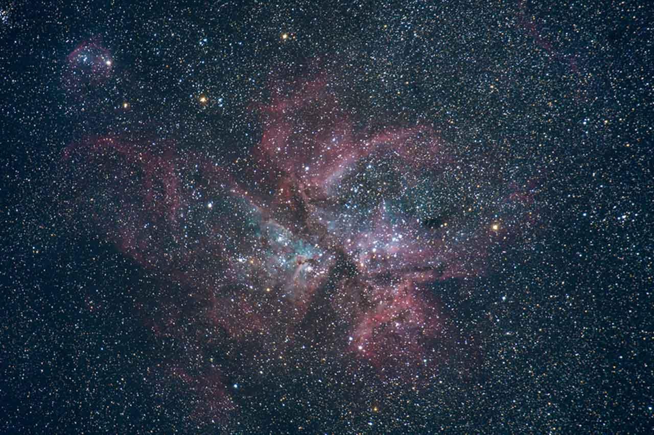 astrophotographie - Nébuleuse de la Carène (NGC 3372) - Xavier Piron - Graine de Photographe