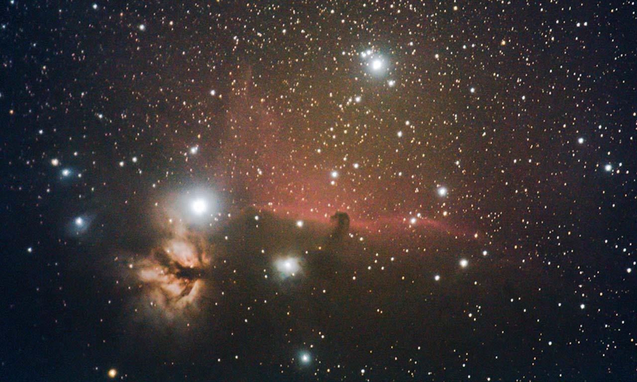 astrophotographie - Nébuleuse de la Flamme (NGC2024) et Nébuleuse de la Tête de Cheval (IC434) - Xavier Piron - Graine de Photographe