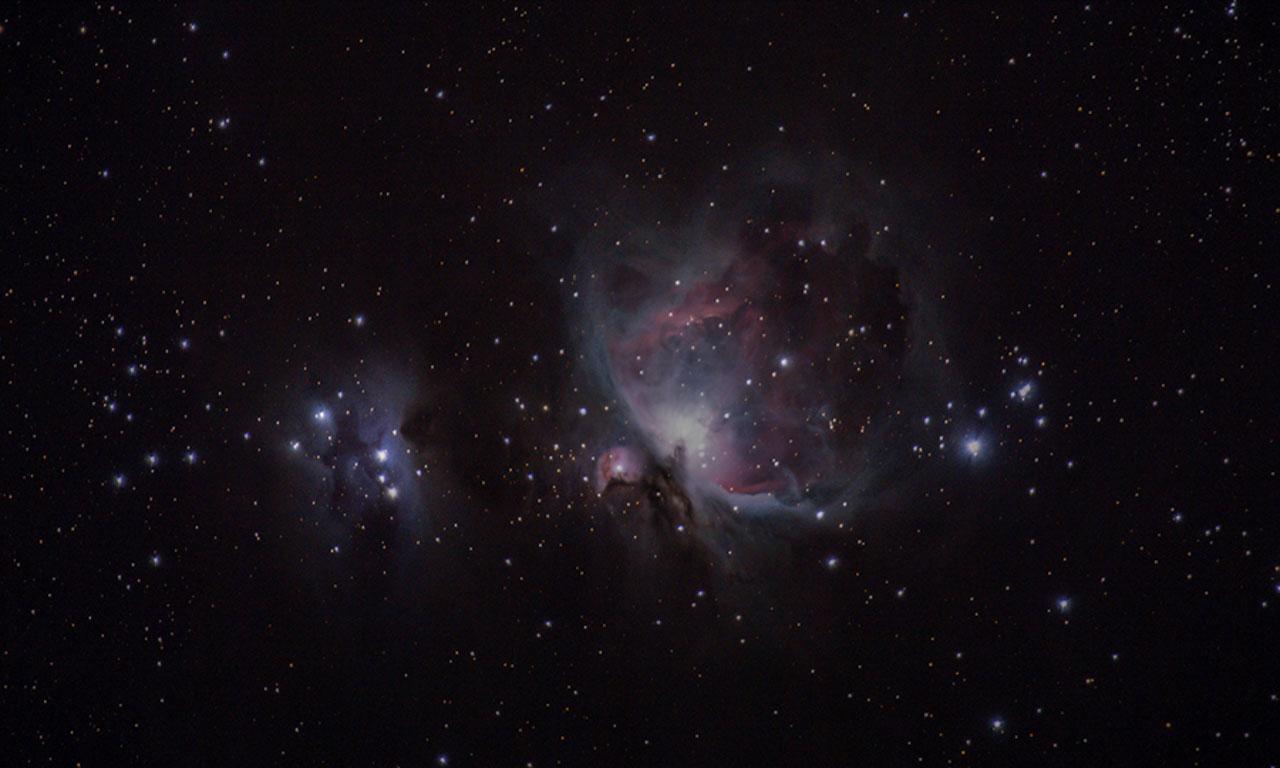 astrophotographie - Nébuleuse d'Orion (M42) et Nébuleuse du Coureur (NGC 1977) - Xavier Piron - Graine de Photographe