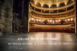 Atelier photo opera comique