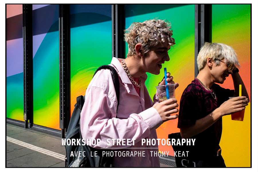 Workshop Street Photography de 2 jours à Paris avec le photographe Thomy Keat