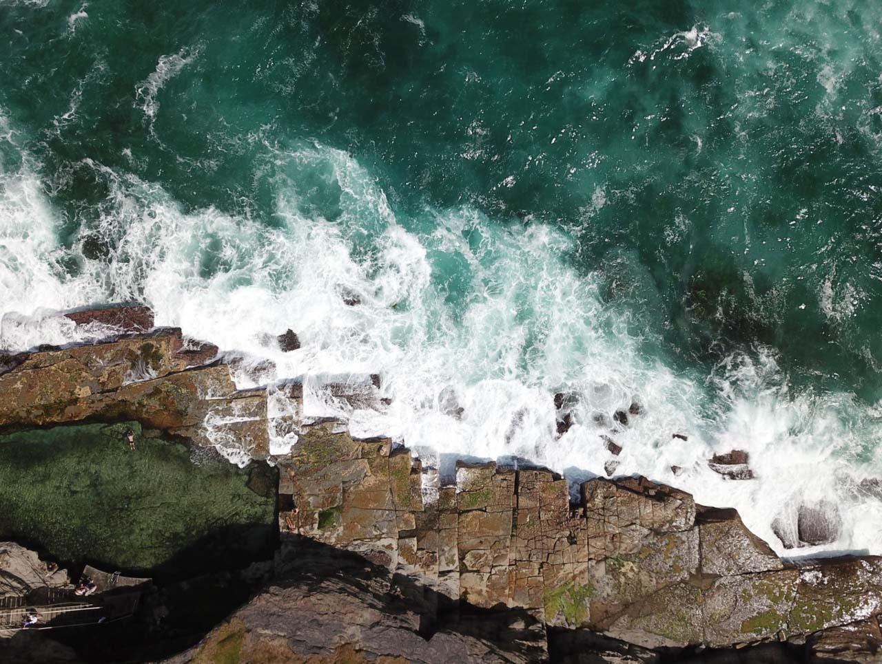 Nicole Larkin - Ocean Pools Mid North Coast, Bogey Hole