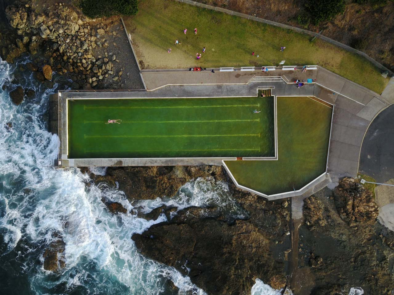 Nicole Larkin - Ocean Pools North Coast, Black Head