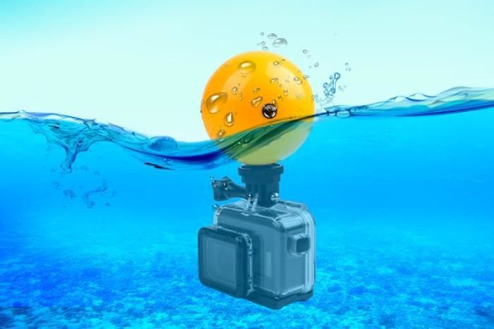 Ballon flottable Gopro
