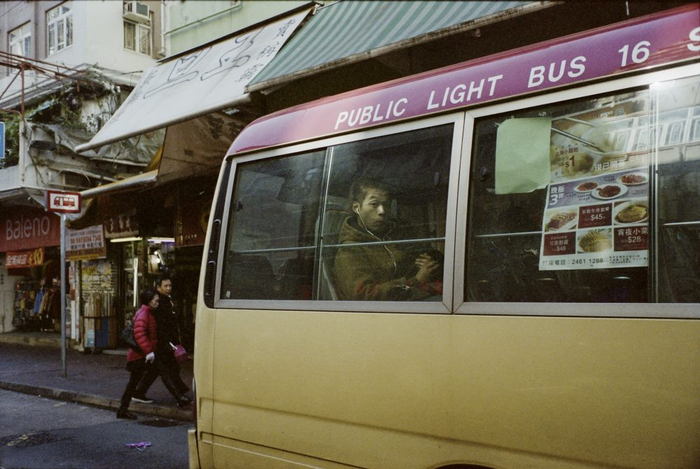 street photography bus asie