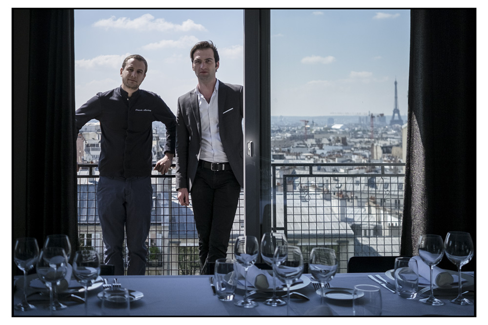 Gastronhoming Chef Francois Marchenay Sommelier Pierre-Yves Tremintin Tifany Rosay Agency