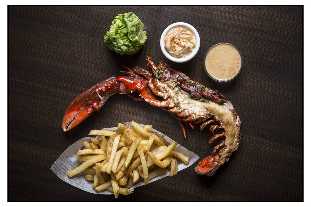 Homard and chips thomy keat
